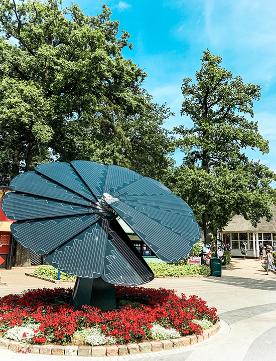 Smartflower Brings Power to Tivoli Friheden in Denmark